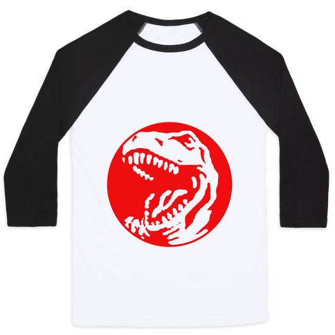 The Red T-Rex Baseball Tee
