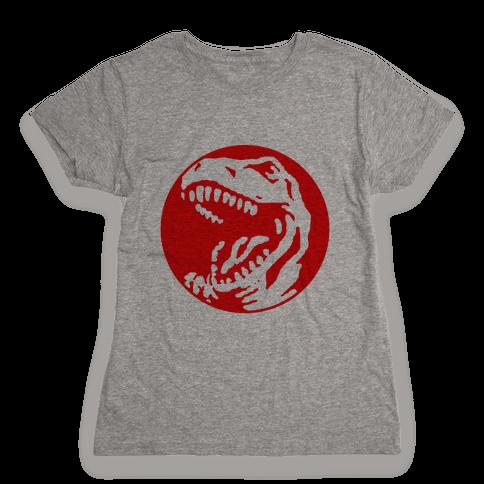 The Red T-Rex Womens T-Shirt