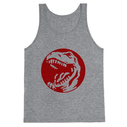 The Red T-Rex Tank Top