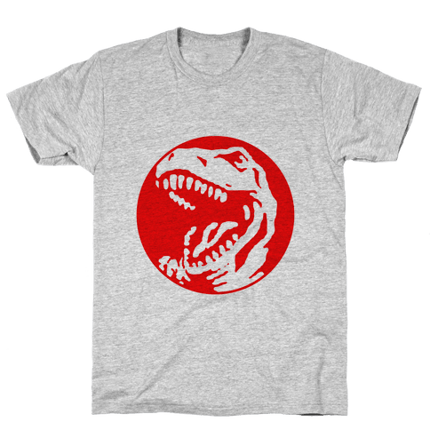 The Red T-Rex Mens T-Shirt