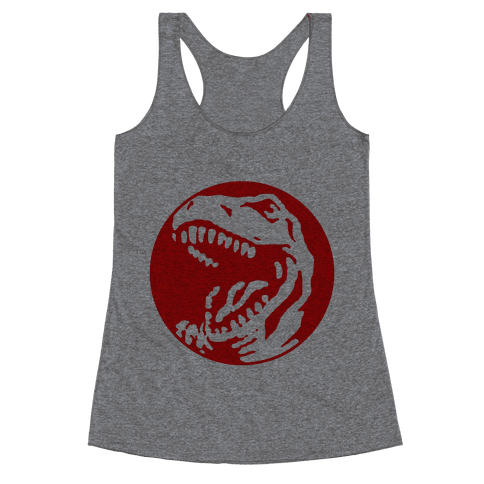 The Red T-Rex Racerback Tank Top