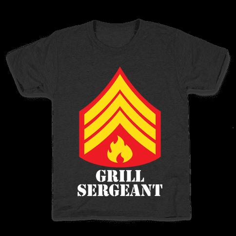 Grill Sergeant Kids T-Shirt