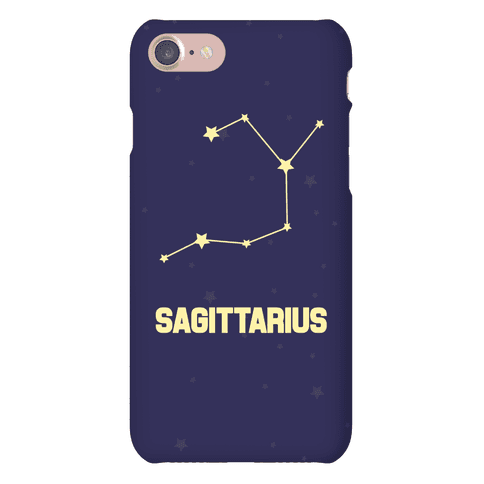 Sagittarius Horoscope Sign Phone Case