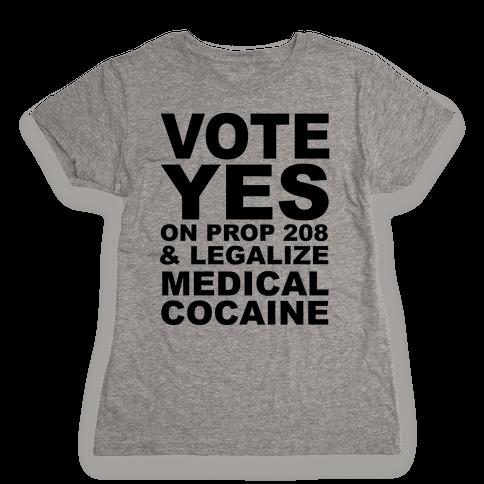 Proposition 208 Womens T-Shirt