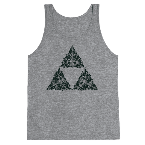 Floral Triforce Tank Top