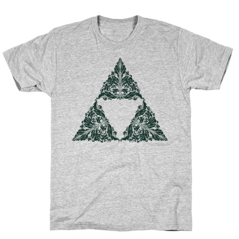 Floral Triforce T-Shirt