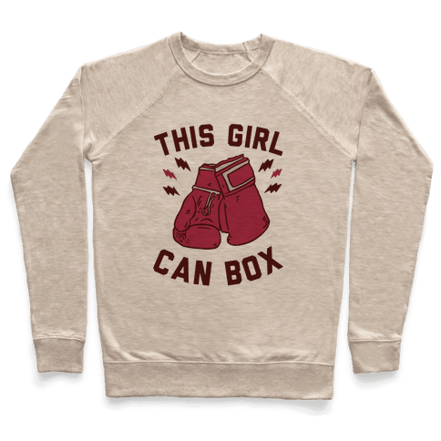 This Girl Can Box Pullover