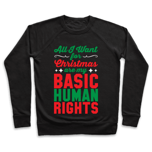 All I Want for Christmas Pullover