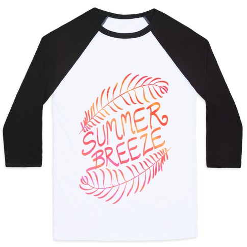 Summer Breeze Baseball Tee