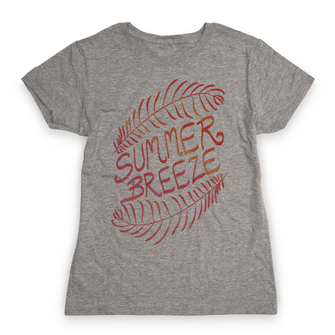 Summer Breeze Womens T-Shirt
