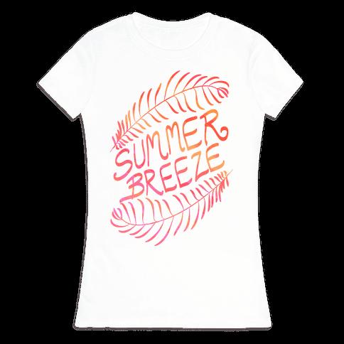 Summer Breeze Womens T-Shirt
