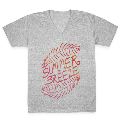 Summer Breeze V-Neck Tee Shirt