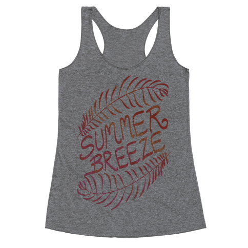 Summer Breeze Racerback Tank Top