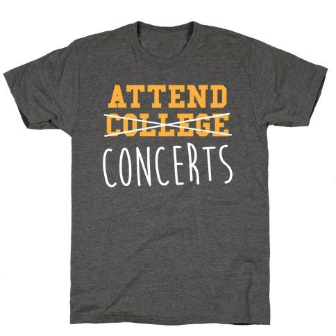 Concerts T-Shirt