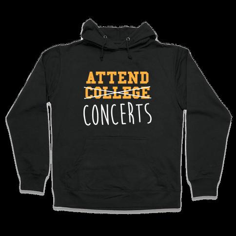 Concerts Hooded Sweatshirt