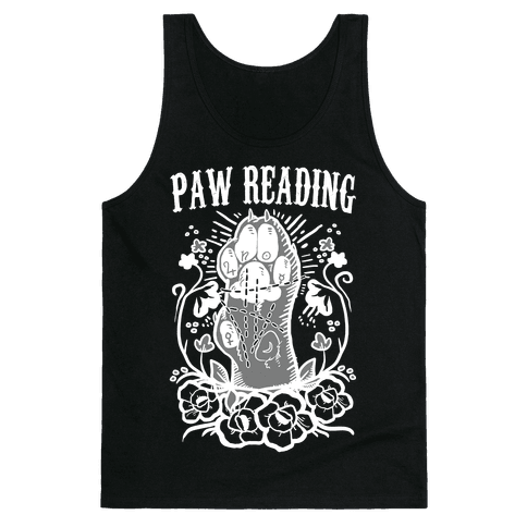 Paw Reading Tank Top