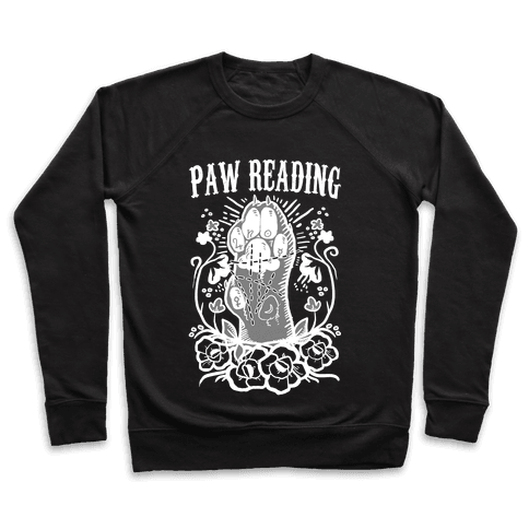 Paw Reading Pullover