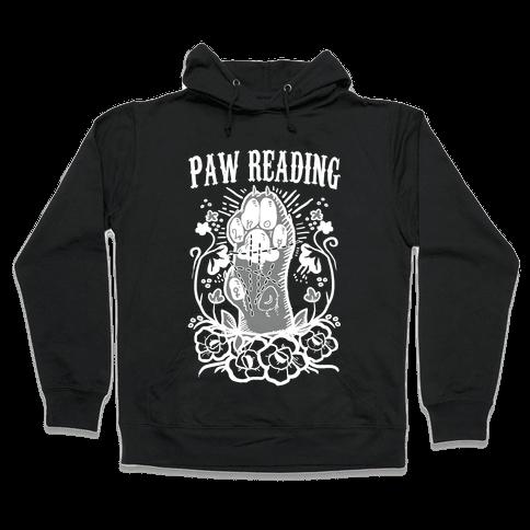 Paw Reading Hooded Sweatshirt