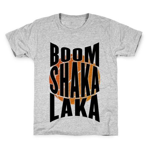Boom Shaka Laka! Kids T-Shirt