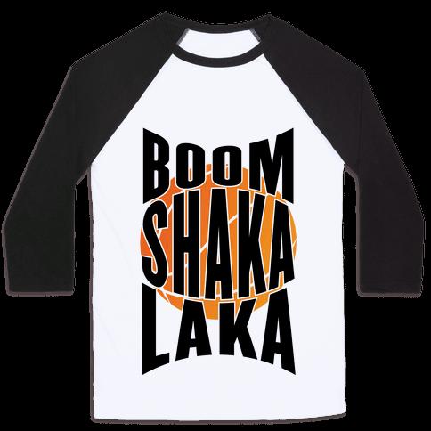 Boom Shaka Laka! Baseball Tee