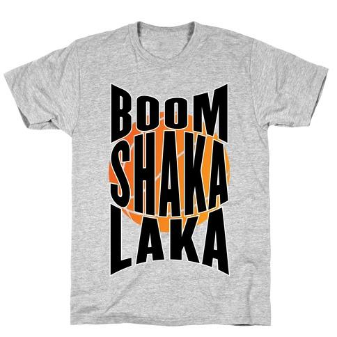 Boom Shaka Laka! Mens T-Shirt