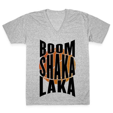 Boom Shaka Laka! V-Neck Tee Shirt