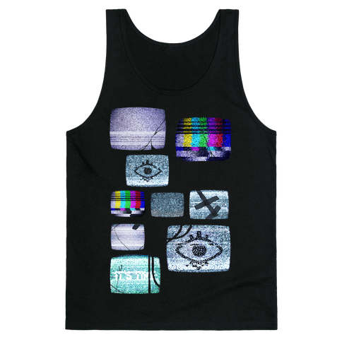 Static Tv Set Tank Top