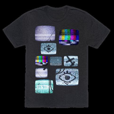 Static Tv Set
