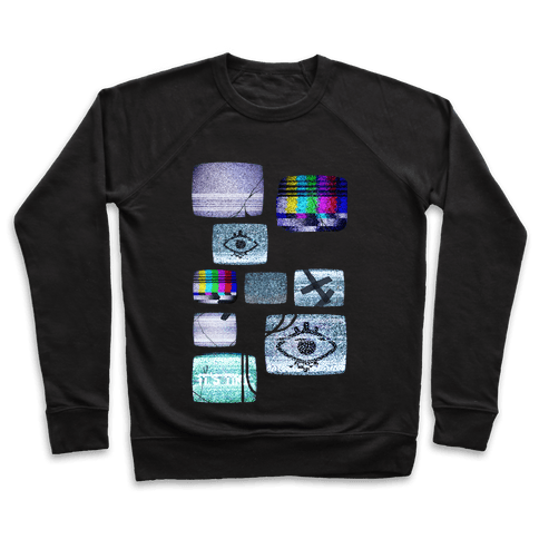 Static Tv Set Pullover