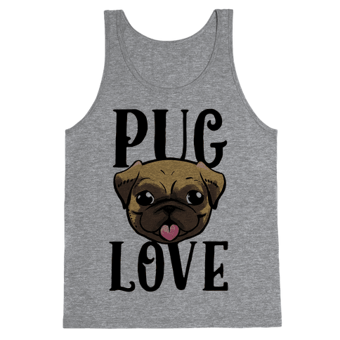 Pug Love Tank Top