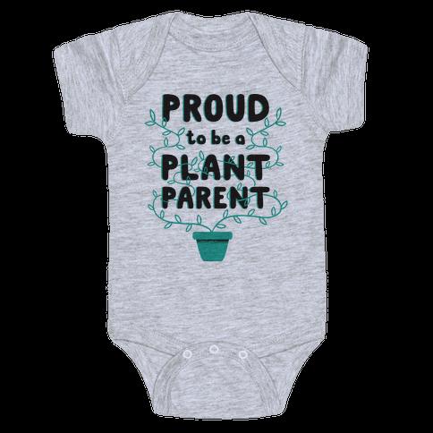 Proud Plant Parent Baby Onesy