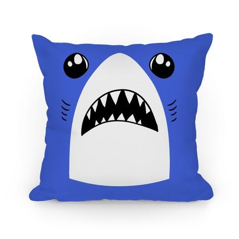 Left Shark Face Pillow