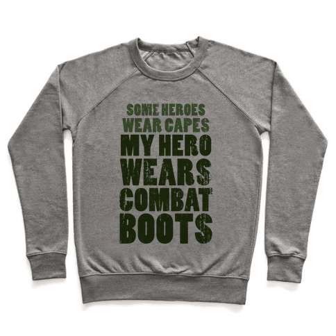 My Hero Wears Combat Boots (Tank) Pullover