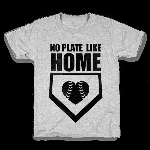 No Plate Like Home (Tank) Kids T-Shirt