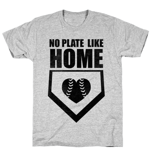 No Plate Like Home (Tank) Mens T-Shirt