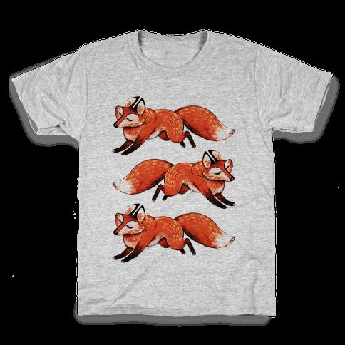 Running Foxes Kids T-Shirt