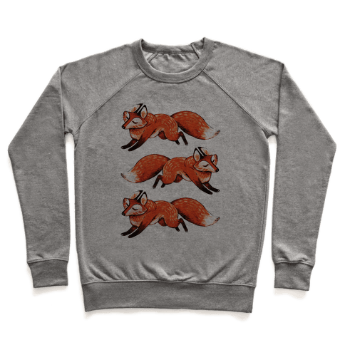 Running Foxes Pullover