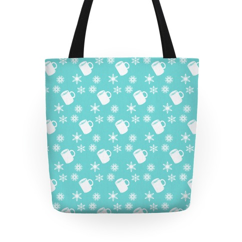 Winter Weather Pattern Tote