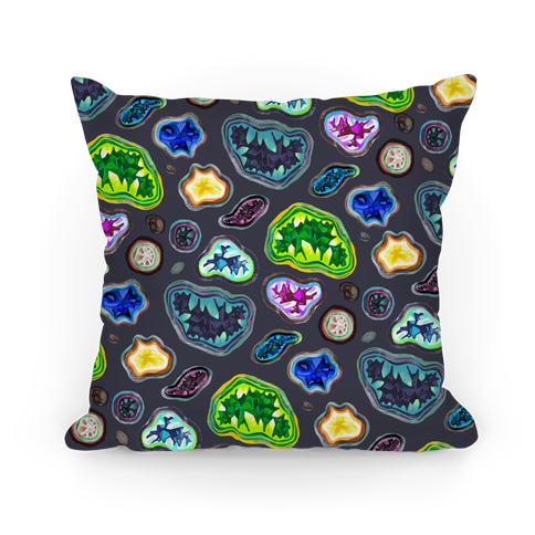 Geode Pattern Pillow Pillow