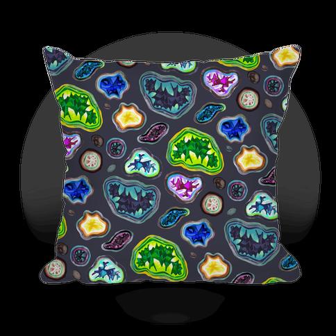 Geode Pattern Pillow