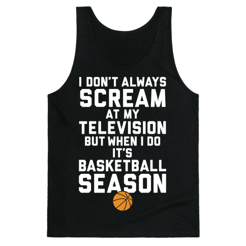 Basketball Season Tank Top