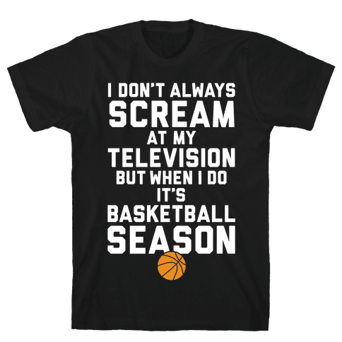 Basketball Season Mens T-Shirt