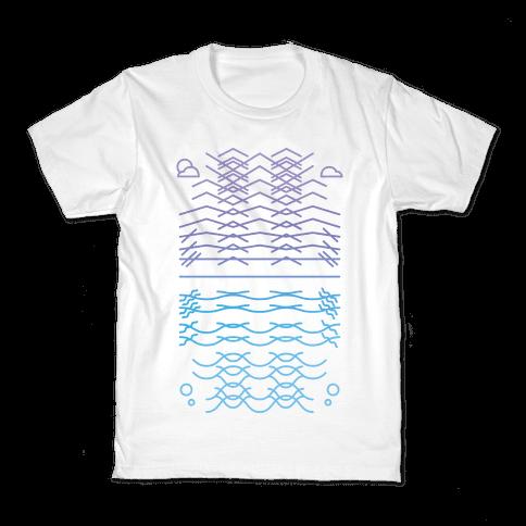 Land And Sea Kids T-Shirt