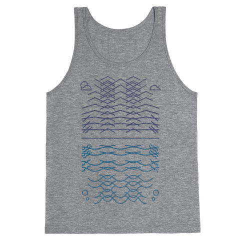 Land And Sea Tank Top