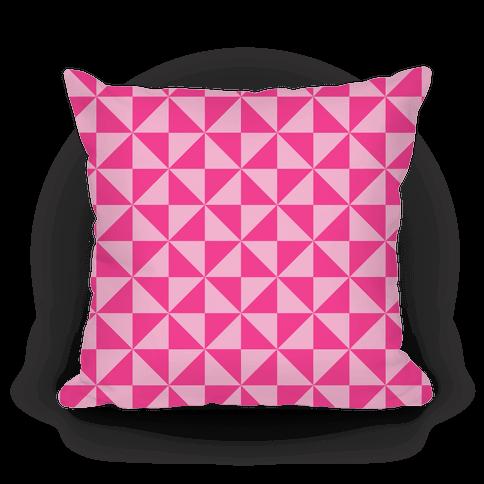 Pink Large Pinwheel Pattern