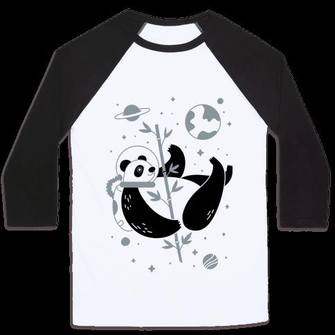 Space Panda Baseball Tee