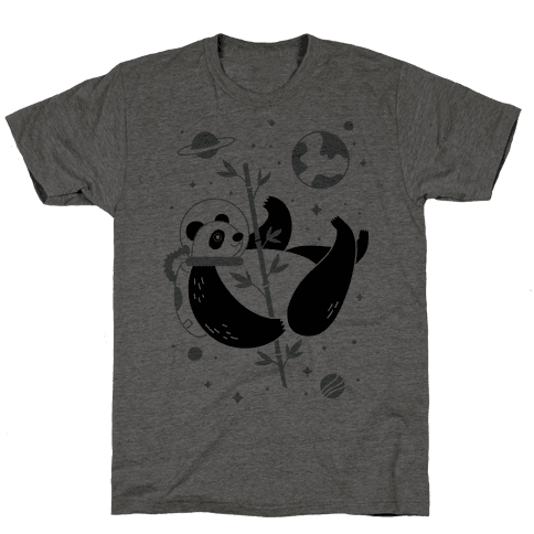 Space Panda Mens T-Shirt