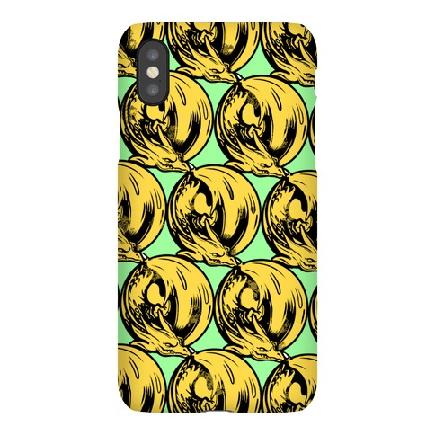 Sleeping Dragon (Gold) Phone Case