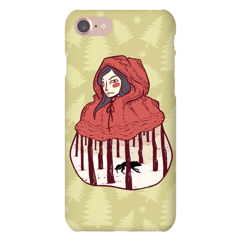 Little Red Phone Case
