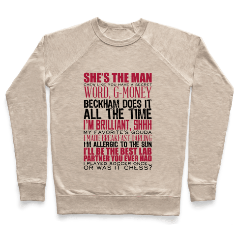 She's The Man Quotes Pullover